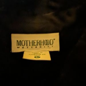Motherhood Maternity Satiny Blouse